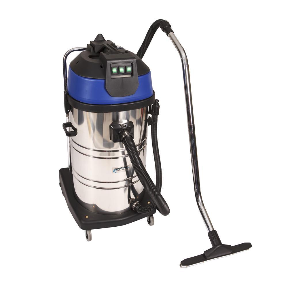 80l Stainless Steel Wet Dry Vacuum 2 Motors Africa Floorcare